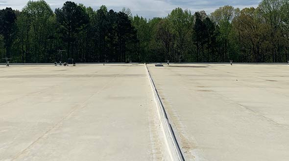 Commercial roof replacement process and roof types