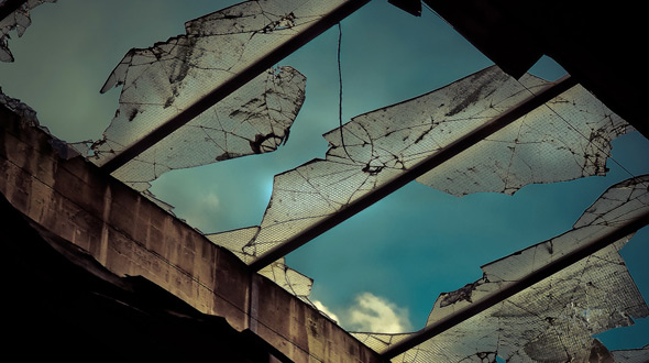 Insurance claim for storm damage to commercial roofing system