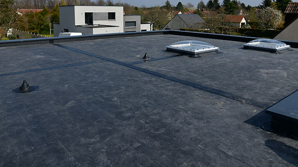 EPDM roofing system repair and replacement