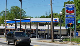 Atlanta Georgia gas station roof replacement contractors