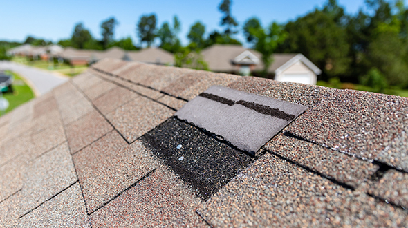 Repair damaged roofing components before they turn into significant problems