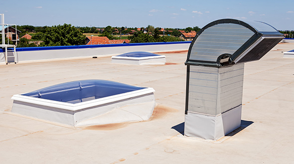 Comparison of TPO and PVC commercial roofing membranes
