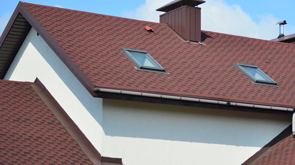 Roofing system drip edge and gutters
